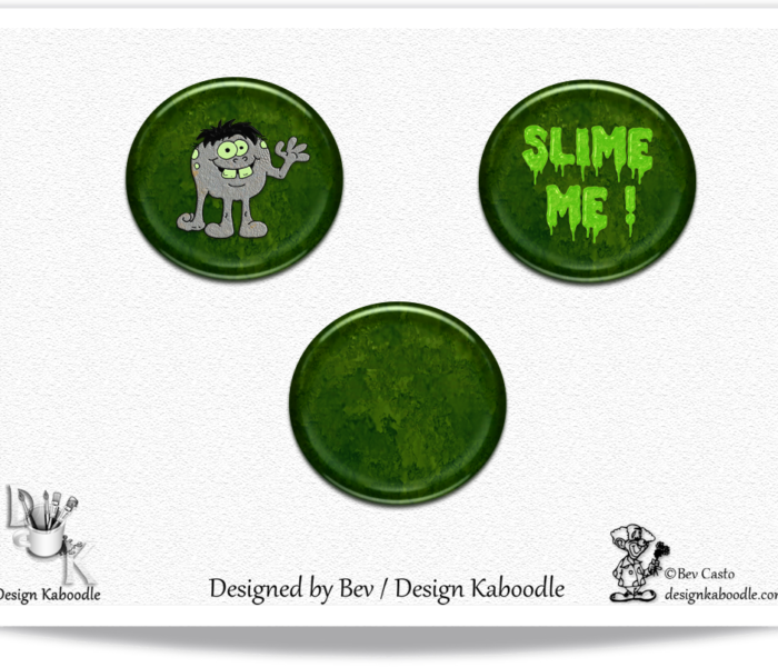 Toxic Waste Buttons