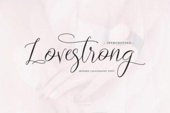 lovestrong font