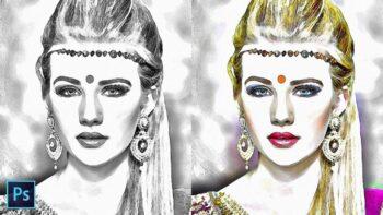 transform photos to pencil sketch